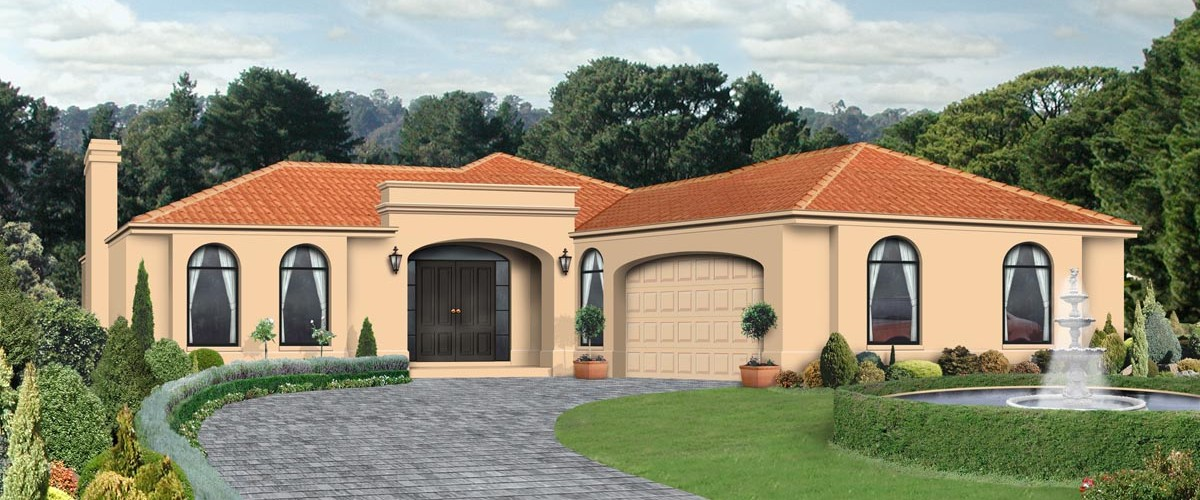 Single storey home designs melbourne geelong for Tuscan house plans single story