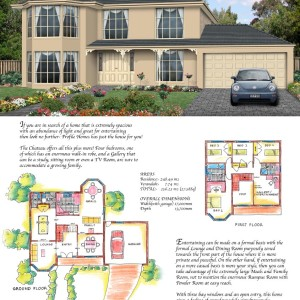 Profile Homes: The Chateau Poster