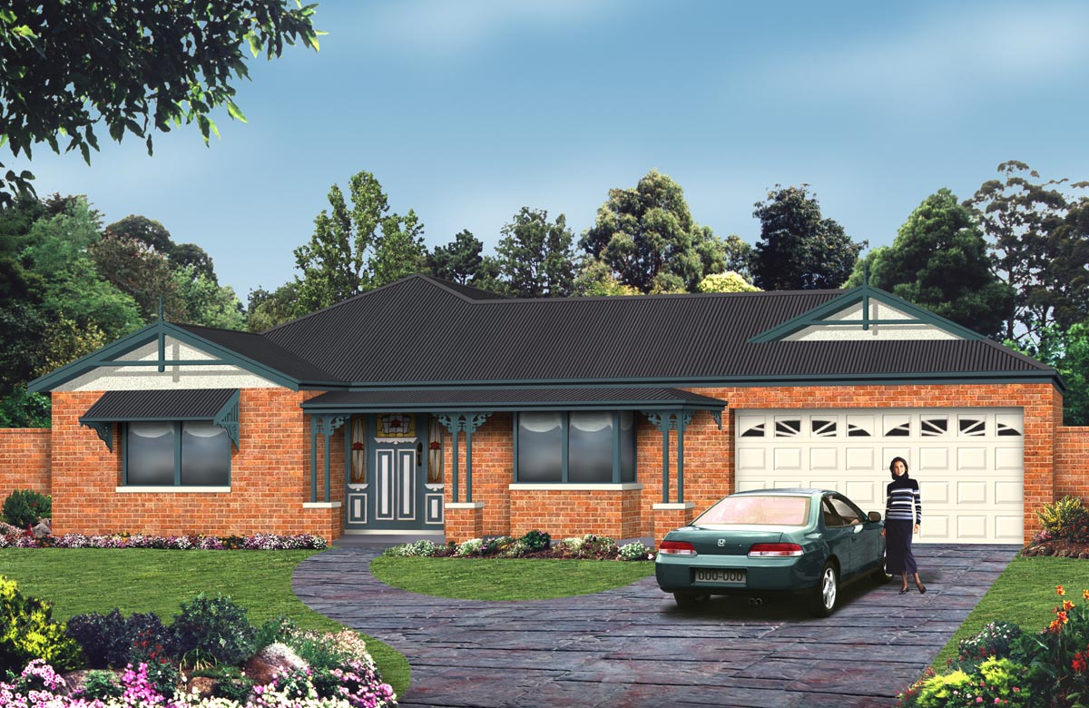Melbourne Single Storey Homes Geelong House Designs