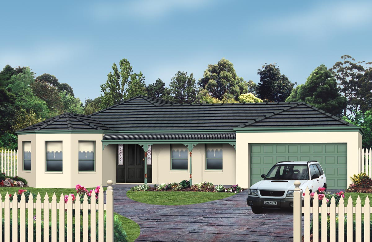 Melbourne single storey homes geelong house designs for New home designs melbourne