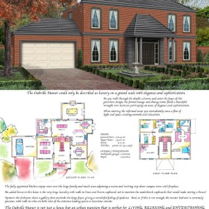 Profile Homes: The Oakville Manor Poster