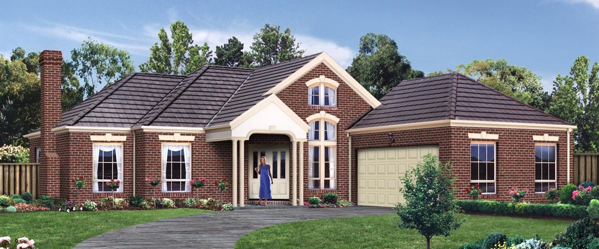 Melbourne two storey house designs geelong homes for Double story home designs melbourne