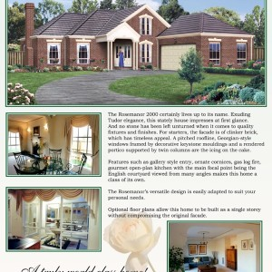 Profile Homes: The Rosemanor 2000 Poster